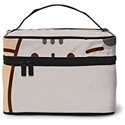 Cubby Push-een Cat Rectangular Cosmetic Travel Bag Makeup Storage Toiletry