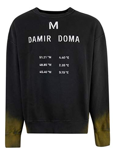 Damir Doma Men's Cf1m0110j1530992 Black Cotton Sweatshirt