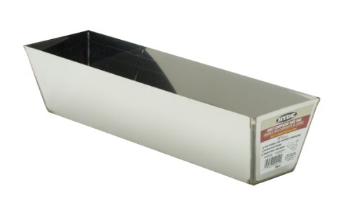hyde-tools-9014-14-inch-stainless-steel-joint-compound-mud-pan-with-heli-arc