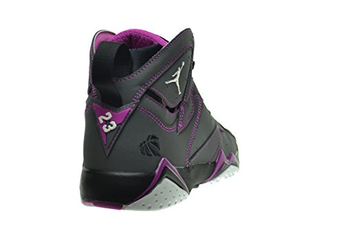 Nike Air Jordan 7 Retro 30th Gg, Zapatillas de Running para Mujer dark grey, white-blck-fchs flsh