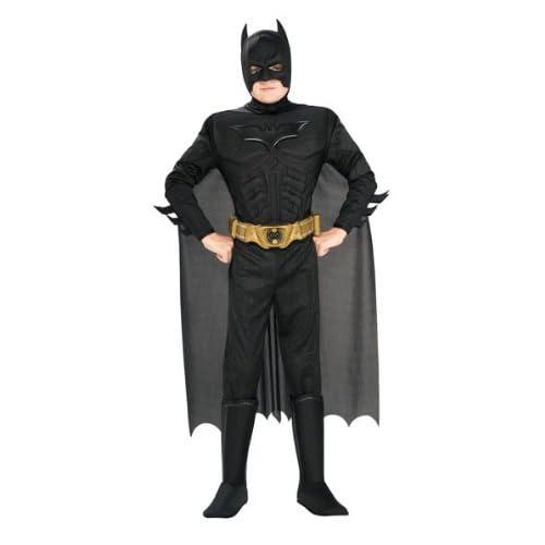 Batman I-881290S - Costume Déguisement Luxe Enfant - Taille 3-4 ans - US Taille 4-6 ans