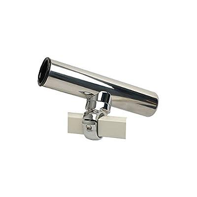C.e. Smith Pontoon Square Rail Adjustable Clamp-On Rod Holder
