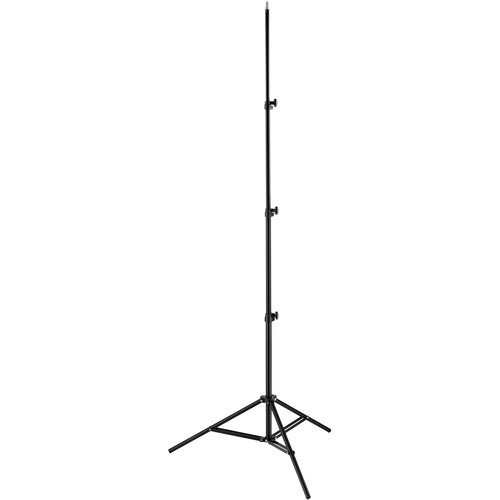 Impact Air-cushioned Light Stand (Black, 8 feet)