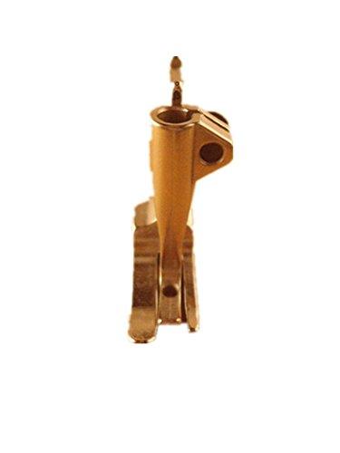 NewPowerGear Zipper Presser Foot Replacement For Sewing Machines MERCURY M-280L M-280LS MITSUBISHI DU-100, DU-105, LU2-400, LU2-401