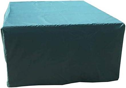 Nevy Fundas para Muebles De Jardín Rectangular Juego De Fundas para Mesa Y Silla Impermeable Tela Oxford, Verde Mini (Size : 123x123x74cm): Amazon.es: Hogar