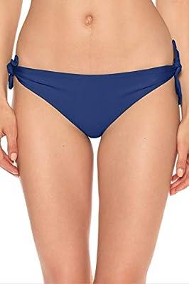 ISABELLA ROSE Women's Double Take Tie Side Hipster Bikini Bottom