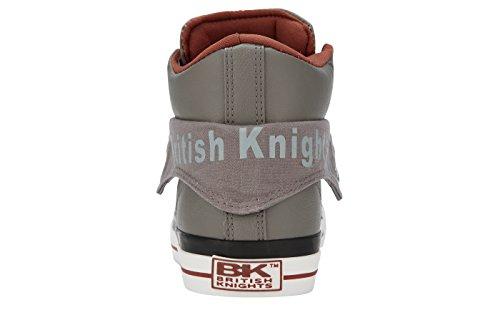 Knights COGNAC Collo Uomo Alto GRIGIO British dOSxBd