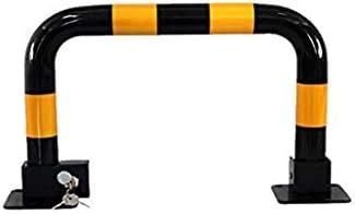 SGMYMX駐車ボラード 安全なレーンパーキングパーキングインターセプター用の重金属ガントリーボラードブラック 駐車インターセプター