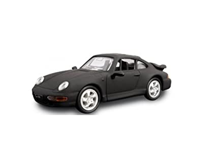 1996 Porsche 911 Turbo Matt Black 1/43 by Road Signature 94219 mbk