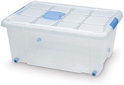 Plastic Forte Caja de Ordenación N 3 36 litros: Amazon.es: Hogar