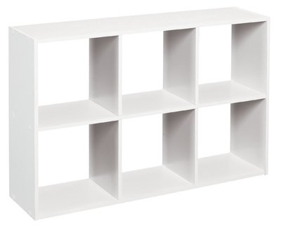 ClosetMaid 1578 Cubeicals Mini 6-Cube Organizer, (Cubby Organizer)