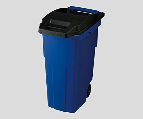 2-8633-01キャスターペール45C2B(ブルー) B07BDPBHYK