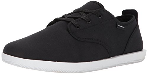 O'Neill Men's Surf Turkey Lo Slipper, Black, 12 M US