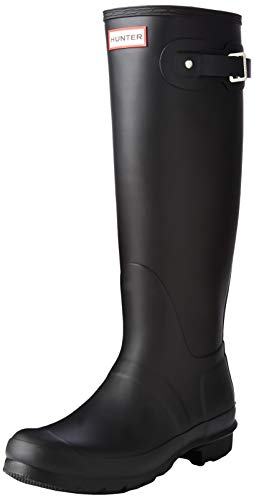Hunter Women's Original Tall Black Rain Boots - 7 B(M) US