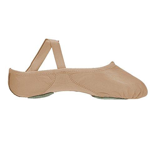 Split Sole Proflex 200 Ballettschuhe Bloch Leder aqTPwn1