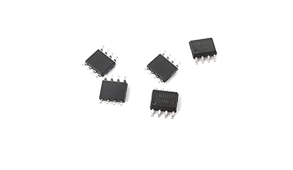 5 Pcs LM4871 Amplificador SOP-8 8Pin Audio Power IC Chip 1.1 ...