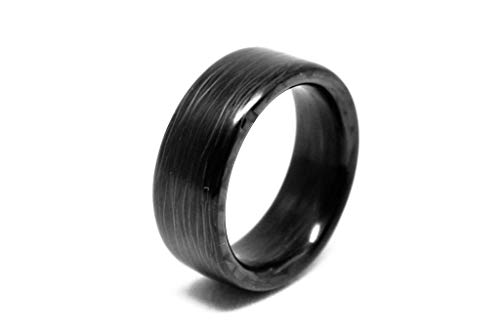 CarbonFi: Carbon Fiber Ring for Men & Women, Perfect Wedding Bands, Birthday Gifts & Engagement Band, Matte