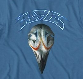 eagles greatest hits blue tshirt import it all