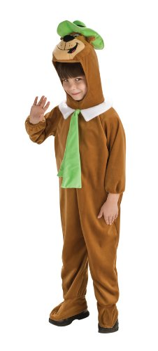 [Yogi Bear Costume Size: Toddler (2-4)] (Yogi Bear Halloween Costume)