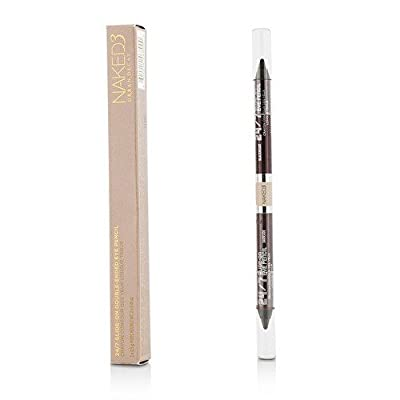 Urban Decay 24/7 Glide On Double Ended Eye Pencil - Naked 3 (Darkside/Blackheart) 2x0.5g/0.01oz