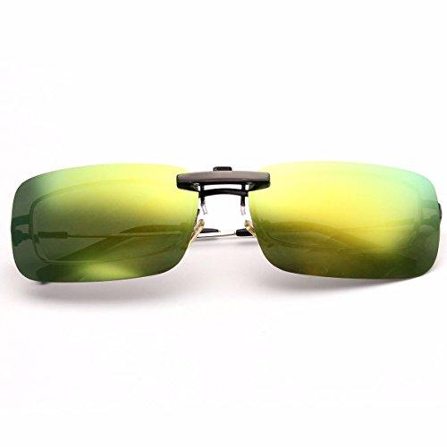 & Sports Glasses - Bikight Polarized Clip On Night Riding Vision Lens Anti-Uva Anti-Uvb - Polarized Clip - For Eyeglasses - - Sunglasses Prescription Zenni Optical