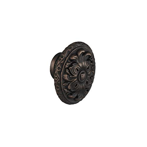#21702 CKP Brand Chateau Royale Oval Knob, Ancient Bronze ()