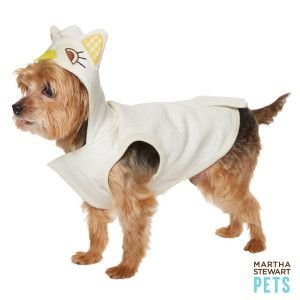Martha Stewart Pets Owl Hoodie Dog Costume (Small)