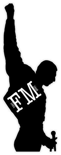 FREDDY MERCURY FM QUEEN MUSIC sticker decal 3