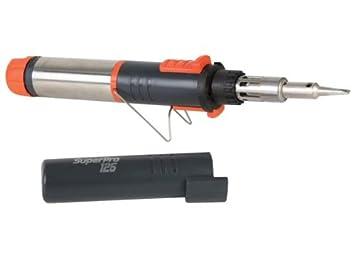 butano con soldador a gas Piezoeléctrica Super Pro: Amazon.es: Coche y moto