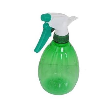 eDealMax plástico Salon gatillo atomizador pulverizador de nebulización Botella del aerosol 540ml Claro Verde