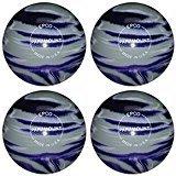EPCO Candlepin Bowling ball- Marbleized – パープル、グレー&ホワイト – 4 Balls B078FVDD4C  4 1/2 inch- 2lbs. 6oz.