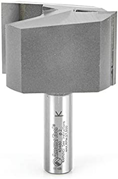 Amana Tool 45452 Carbide Tipped Straight Plunge Router Bit High Production 1-1//2
