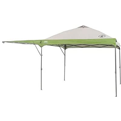 Coleman 10' X 10' Instant Straight Leg Outdoor Tailgate Canopy/gazebo with Added Swing Wall : Garden & Outdoor
