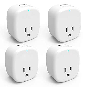 Smart Plug Wifi Socket APP Control Switch Timer USB Socket Home Automation