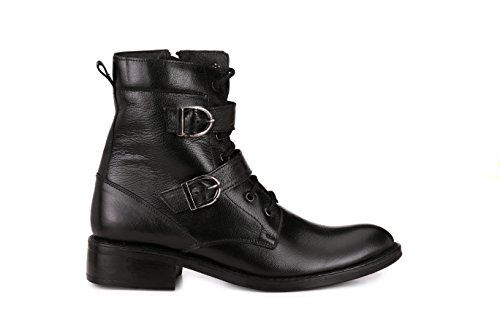 Patent Cowboy Hiking Genuine Men Boots Zip Black Chelsea Side Leather Work Military up Leather Boots Oxford Lace Boots dw0Uwq