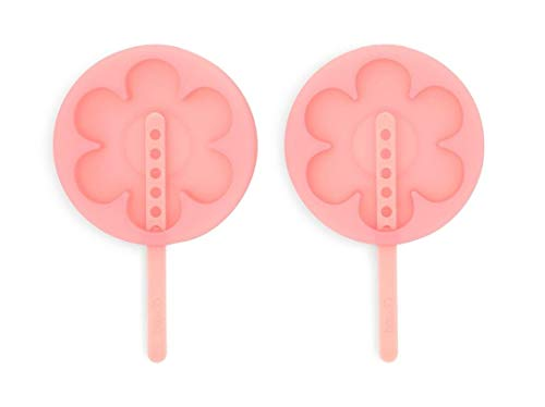 ban.do Chill Out Silicone Popsicle Mold, Set of 2, daisy (color -