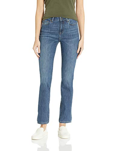 Amazon Essentials Women's Slim Straight-Fit Jean, Medium Wash, 2 Regular