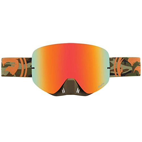 Dragon Alliance Camo Adult NFX Dirt Bike Motorcycle Goggles Eyewear, Red Ionized, One Size (Dragon Mx Goggles)