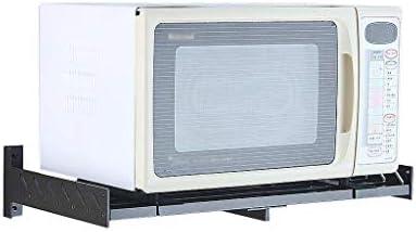 DAAC Racks Horno microondas Cocina Espacio Negro Aluminio Montado ...