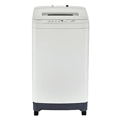 Haier HLPW028BXW Portable Washer With 2.1 Cu. Ft. Capacity 6 Washing Cycle  Adjustable Leveling