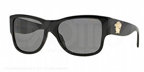 VERSACE Sunglasses VE 4275 GB1/81 Black / Grey Polarized Lens Size: (mm): - Versace 4275 Sunglasses