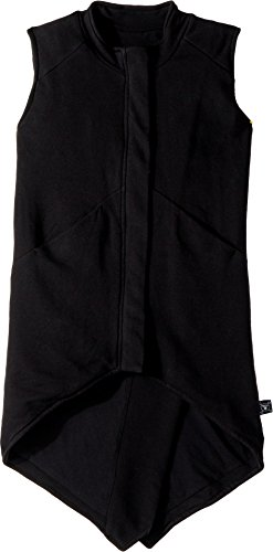 NUNUNU Girl's Tail Vest (Little Kids/Big Kids) Black 8-9 by NUNUNU