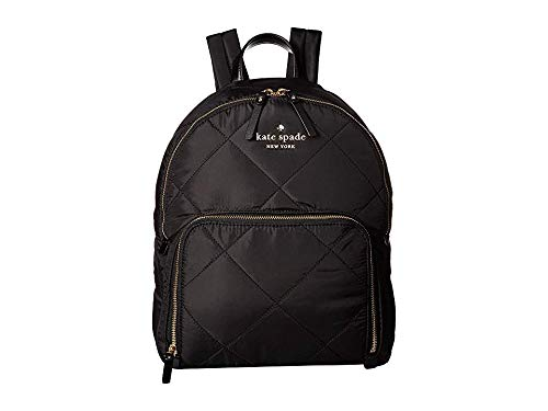 Kate Spade New York Women's Watson Lane Quilted Hartley Backpack, Black, One Size