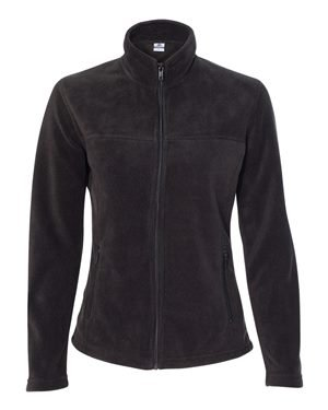 Colorado Clothing 9634 Women's Sport Fleece Full-Zip Jacket Black Small