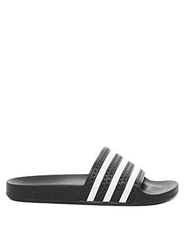 adidas Adilette, Chanclas para Hombre Negro (Core Black/White/Core Black)