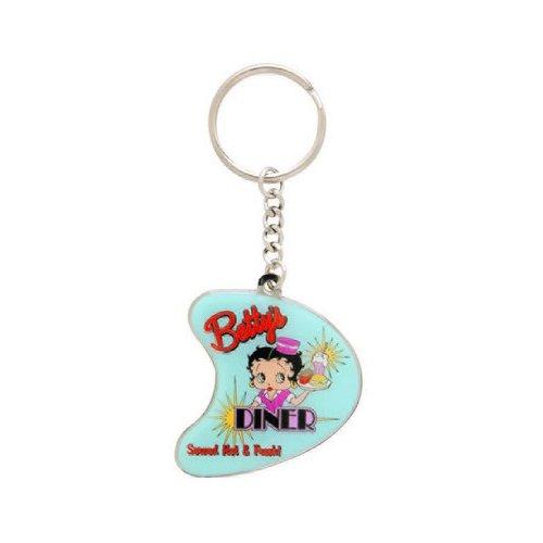 (Betty Boop Dinner Keychain )