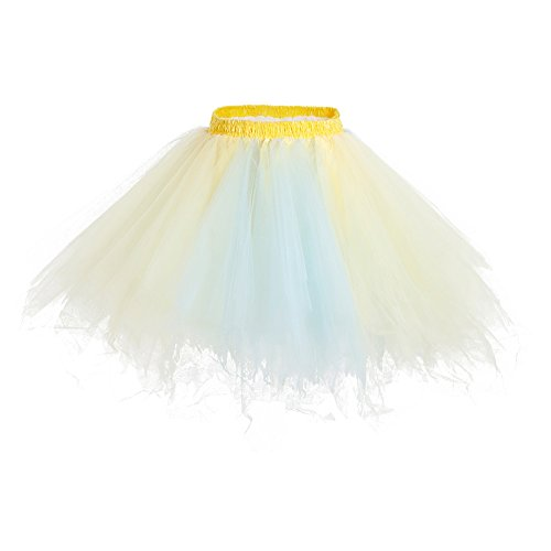 Bbonlinedress annes bleu Jupe en Champagne Tulle Tutu Style Ballet Courte 50 r0qp7r