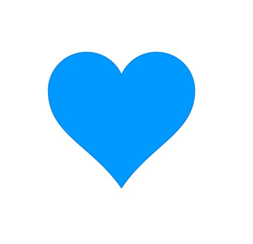 LAMINATED POSTER Turquoise Heart Illustrations Poster Print 24x 36 (Grande El Santiago)