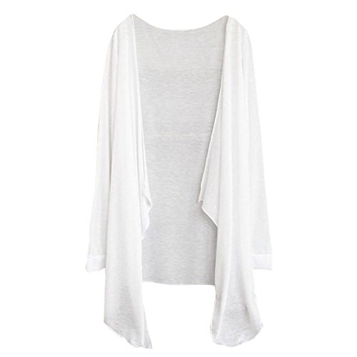 Nation Clearance ♥Sun Protection Clothing Tops , Summer Women Long Thin Cardigan Modal (Free Size, A)