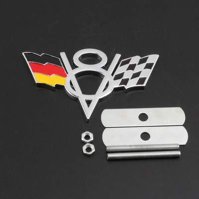 Amazon.com: Pegatinas de metal con el logotipo de la bandera ...